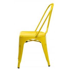 Culty Jídelní židle Tolix 45, žlutá