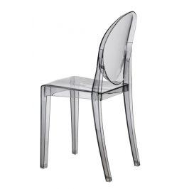 Culty Kouřová designová židle Ghost