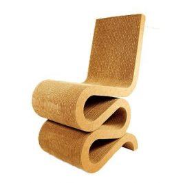 Culty Designová židle Wiggle, karton
