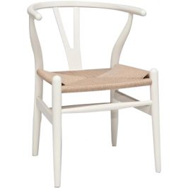 Culty Dřevěná židle Bounce, bílá Židle do kuchyně