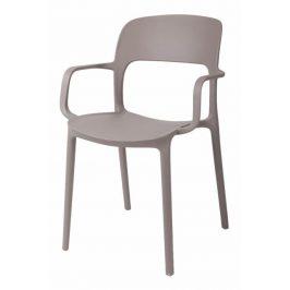 Culty Jídelní židle Lexi s područkami, cappuccino