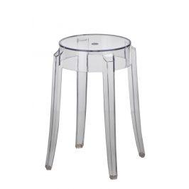 Culty Transparentní plastová stolička Ghost 46