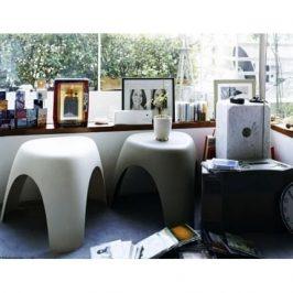 Culty Bílá plastová stolička Elephant