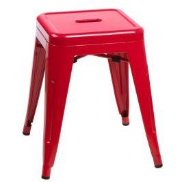 Culty Červená celokovová stolička Tolix 46