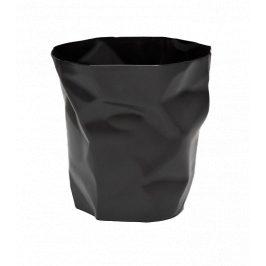 Culty Černý plastový odpadkový koš Crum