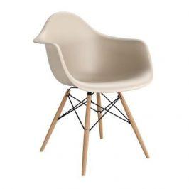 Culty Designová židle DAW, béžová