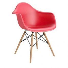 Culty Designová židle DAW, červená