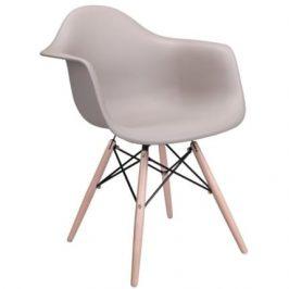 Culty Designová židle DAW, cappuccino