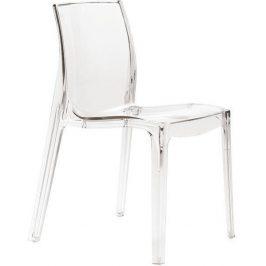 SitBe Plastová transparentní židle Simple Chair