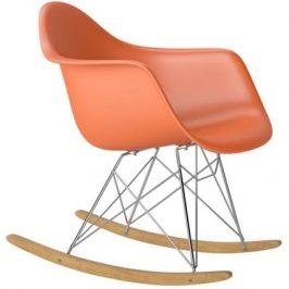 Culty Designové houpací křeslo RAR, oranžová