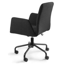 OfficeLab Černá konferenční židle Bela na kolečkách