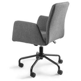 OfficeLab Šedá konferenční židle Bela na kolečkách