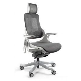 OfficeLab Šedá designová kancelářská židle Master A03