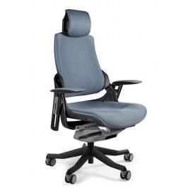 OfficeLab Šedá designová kancelářská židle Master E04 Židle do kuchyně