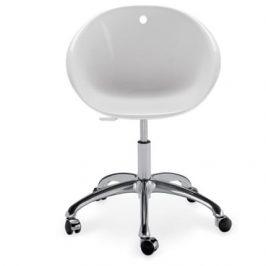 Pedrali Světlá plastová konferenční židle Gliss 960