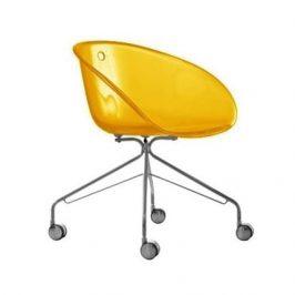 Pedrali Barevná plastová konferenční židle Gliss 968
