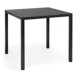 Garden Project Černý stůl Lima 80x80