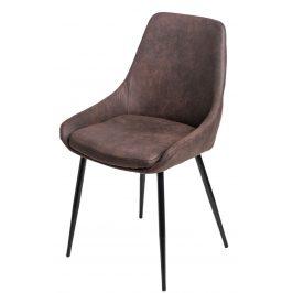 Culty Designová židle Sofia se zvýšeným sedákem, tmavě hnědá
