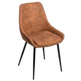 Culty Designová židle Sofia se zvýšeným sedákem, hnědá