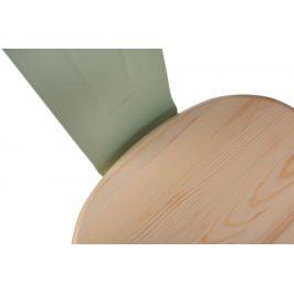 Culty Jídelní židle Tolix 45, zelená/borovice