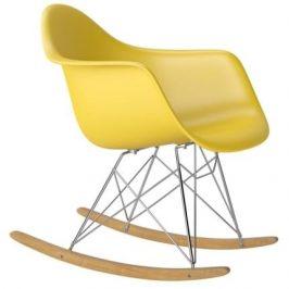 Culty Designové houpací křeslo RAR, žlutá