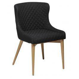 DAN-FORM Černá jídelní židle DanForm Vetro