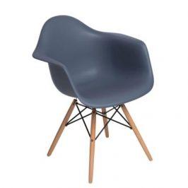 Culty Designová židle DAW, tmavě šedá Židle do kuchyně