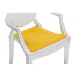 Culty Žlutý podsedák na židli Ghost