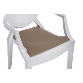 Culty Tmavě béžový podsedák na židli Ghost