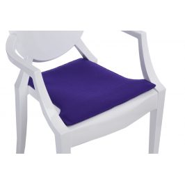 Culty Fialový podsedák na židli Ghost