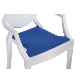 Culty Modrý podsedák na židli Ghost