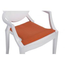 Culty Pomerančově oranžový podsedák na židli Ghost
