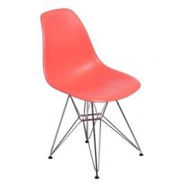 Culty Meruňková plastová židle DSR