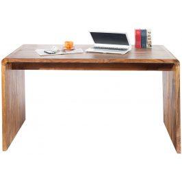 Moebel Living Masivní sheeshamový pracovní stůl Barstow 150 cm