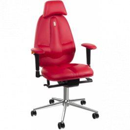 Kulik System Kancelářské křeslo Classic, ekokůže, červená