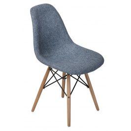 Culty Modrošedá celočalouněná židle DSW