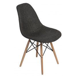 Culty Celočalouněná židle DSW v provedení šedá/kohoutí stopa