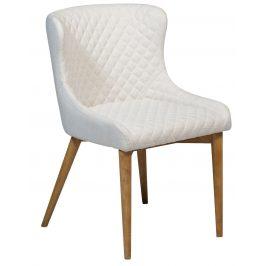 DAN-FORM Krémová jídelní židle DanForm Vetro