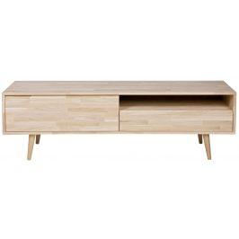 Hoorns Dřevěný TV stolek Alize 150 cm