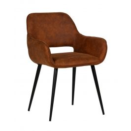 Hoorns Hnědá jídelní židle Monky