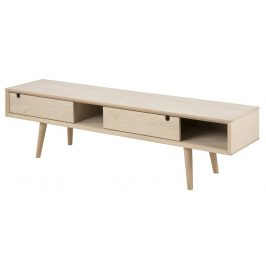 SCANDI Dubový TV stolek Celia 160 cm