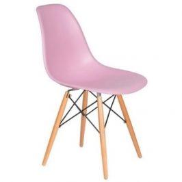 Culty Gold Židle DSW, pastelově růžová