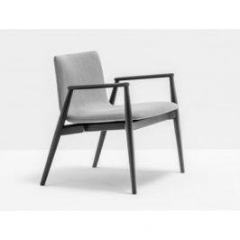 Pedrali Šedá jasanová židle Malmö 296