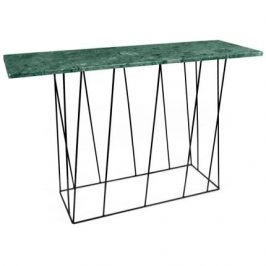 Porto Deco Zelený mramorový toaletní stolek Rofus 120 cm