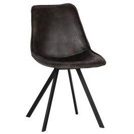 Hoorns Černá jídelní židle Viner