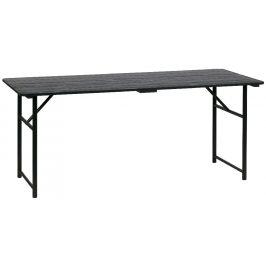 Hoorns Černý jídelní stůl Gaston 180 cm