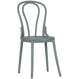 Hoorns Zelená plastová židle Ernest