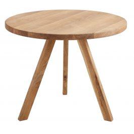 Nordic Design Přírodní masivní jídelní stůl Tree 90 cm