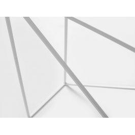 Nordic Design Bílý kovový toaletní stolek Mountain 100x30 cm