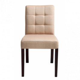 Nordic Design Židle Sew, písková, tmavá podnož